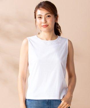 【特別提供品】フラワーコード刺繍タンクトップ