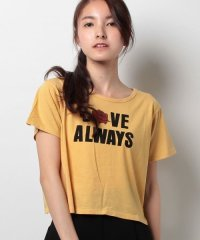 【E hyphen world gallery/イーハイフンワールドギャラリー?】・ヴィンテージロゴちびTシャツ