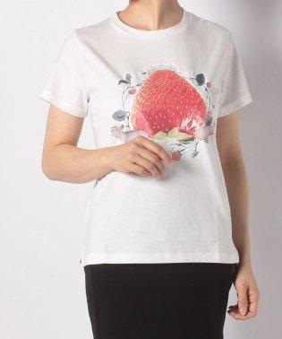 【E hyphen world gallery/イーハイフンワールドギャラリー?】いちご姫Tシャツ Ladys