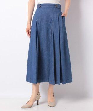 【MyLanKa】タックロングスカート