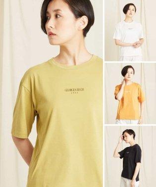 【洗濯機OK】【4色】ロゴTシャツ