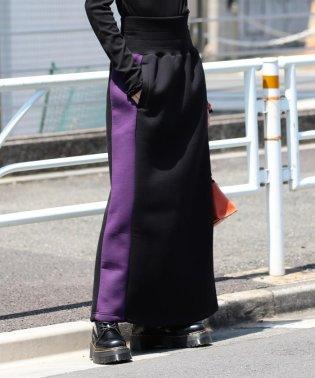 Champion × Ray BEAMS / 別注 スウェット ロング スカート