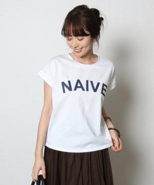 Vin(ヴァン) ロールアップロゴTシャツ