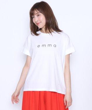 """[Mansart マンサール] """"emma"""" ロゴTシャツ"""
