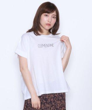[Mansart マンサール] CLEMENTINE ロゴTシャツ