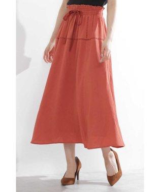 ラダーレースロングスカート