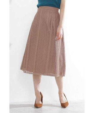 ◆レースフレアスカート