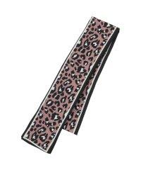 レオパード柄スリムスカーフ