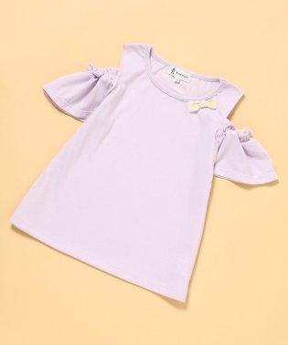 【ROPE' PICNIC KIDS】オフショルダーTシャツ