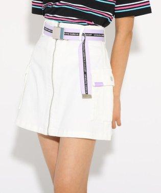 ★ニコラ掲載★カーゴポケベルト付 スカート