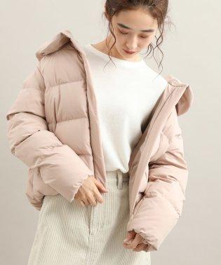【防風+撥水加工】ハンガリーダウンショートジャケット