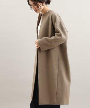 【WEB限定】二重織りメルトンハイネックコート