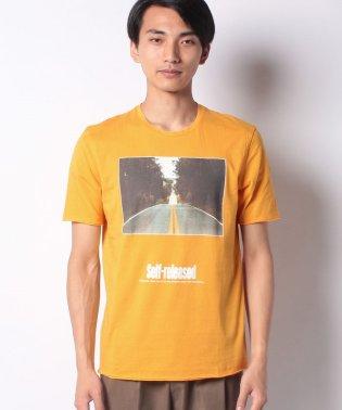 オーガニックプリント半袖Tシャツ・カットソー