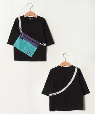 サコッシュ七分袖Tシャツ