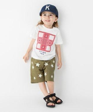 バンダナボックスプリントTシャツ