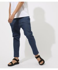 AIR BLOW DENIM ANKLE TAPERED