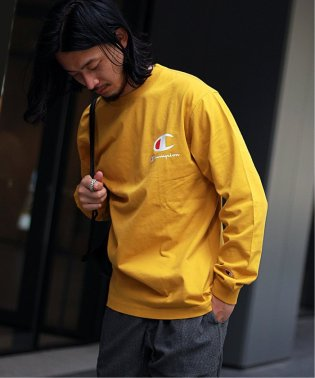 CHAMPION  / チャンピオン別注 : ロングスリーブシャツ