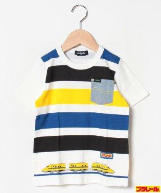 プラレールコラボ ボーダープリントTシャツ