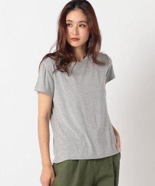 クルーシルキーTシャツ