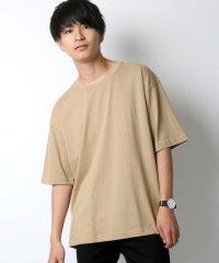 Lazar/ラザル 【WEB限定】 別注 ビッグシルエット無地Tシャツ