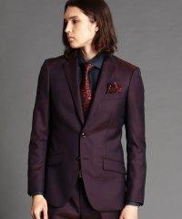 シャドーウィンドーペン柄スーツ
