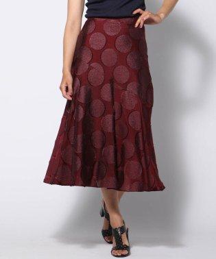 サークルジャガードスカート