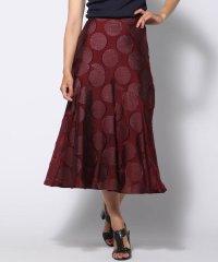 ≪大きいサイズ≫サークルジャガードスカート