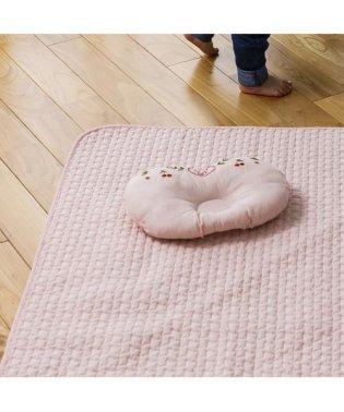 ベビーイブル 水洗い敷パッド 70x120cm チェリー ピンク