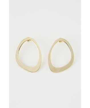 OVAL FLAME P/EARRING