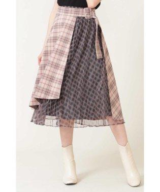 ◇プリーツラップセットスカート