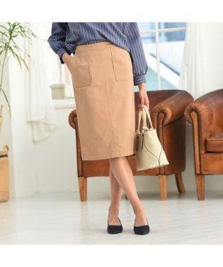 【キレイ魅せ】ベイカーチノタイトスカート