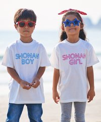 【KIDS ITEM/子供服】KAGAFURI KAMAKURA(カガフリ カマクラ) SHONAN BOY&GIRL キッズTシャツ