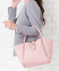 【3way】スカーフ付き台形ハンドバッグ