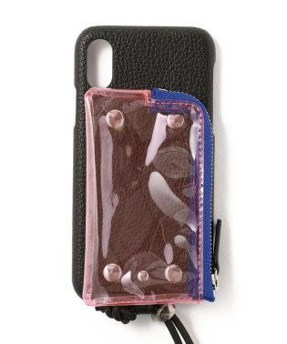 A SCENE/エーシーン/クリアポケット付きCASE iPhone X/XS