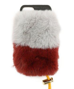 A SCENE/エーシーン/ 2-layer fur case (iphone6/6s/7/8 共通サイズ)