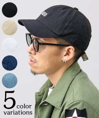 【HIDE TRADING/ヒデトレーディング】NYCボックスロゴ刺繍ローキャップ
