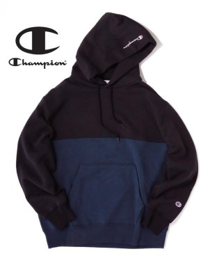 Champion×SHIPS JET BLUE: 【Begin12月号 P58掲載】別注 プルオーバーパーカー
