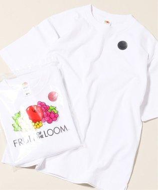 《追加》FRUIT OF THE LOOM×relume / 別注 EMBROIDERY Tシャツ