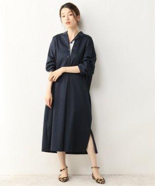 【ALANI the grey】ダブルタックシャツドレス
