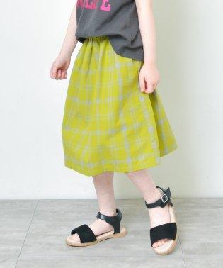 【プチプラ】チェック柄スカート(90~140cm)