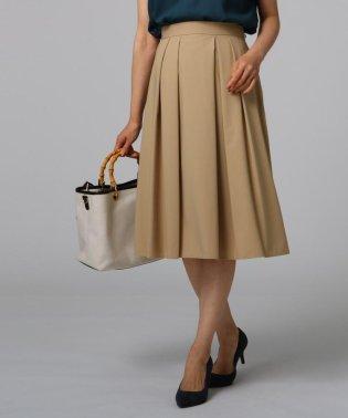 [L]レーヨン混フレアスカート