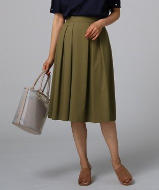 レーヨン混フレアスカート
