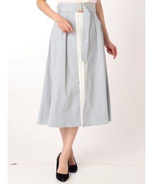 プリーツドッキングラップスカート