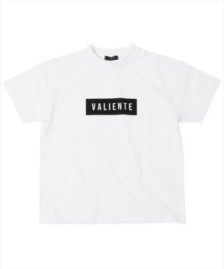 ドロップショルダーボックスロゴ半袖Tシャツ