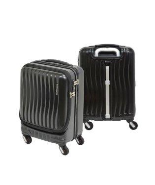 フリクエンター スーツケース 機内持ち込み Sサイズ フロントオープン ストッパー付き 静音 軽量 34L 1-216