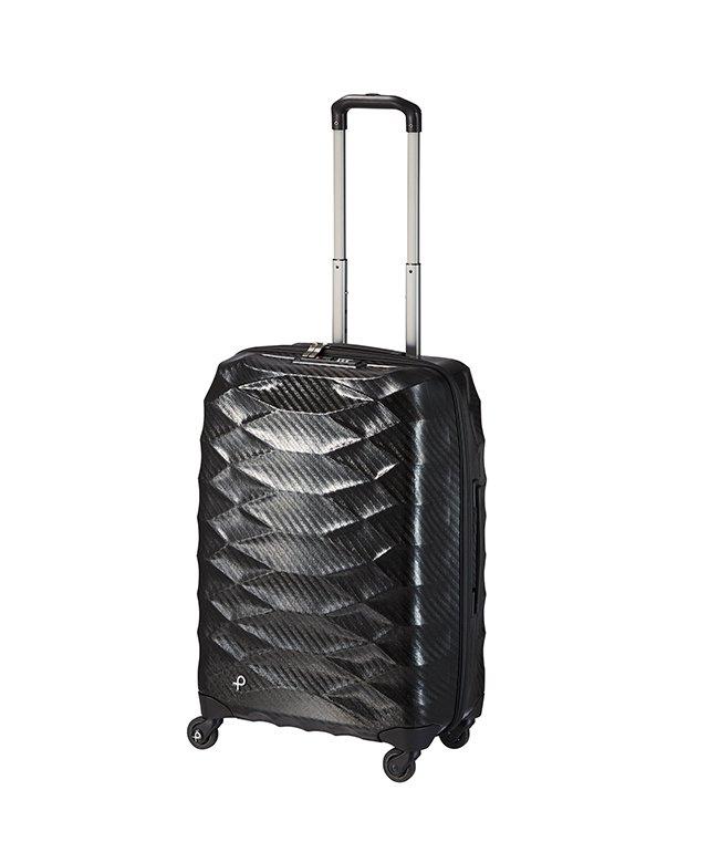 (ProtecA/プロテカ)エース プロテカ スーツケース 超軽量 Mサイズ 53L ACE PROTeCA 01822 エアロフレックスライト/ユニセックス ブラック