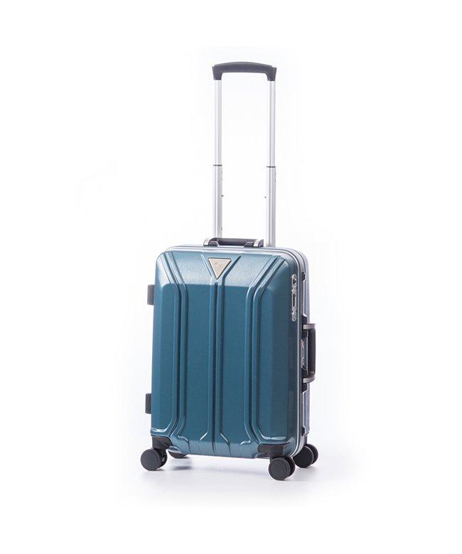 (ASIA LUGGAGE/アジアラゲージ)アジアラゲージ スーツケース 機内持ち込み Sサイズ ストッパー フレーム イケかる 軽量 ALI−1031−18S 35L/ユニセックス ブルー
