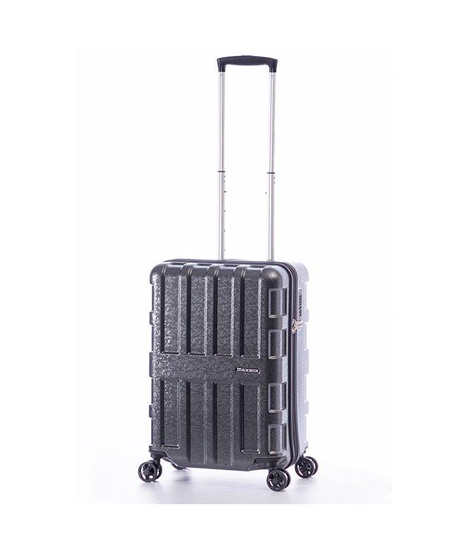(ASIA LUGGAGE/アジアラゲージ)アジアラゲージ スーツケース 機内持ち込み Sサイズ マックスボックス 40L A.L.I MAXBOX MOZAIC ALI−2511/ユニセックス ブラック