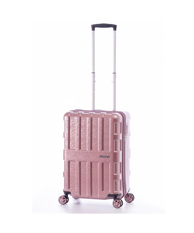 (ASIA LUGGAGE/アジアラゲージ)アジアラゲージ スーツケース 機内持ち込み Sサイズ マックスボックス 40L A.L.I MAXBOX MOZAIC ALI−2511/ユニセックス ピンク