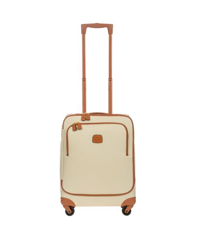 (BRICS/ブリックス)ブリックス フィレンツェ ソフトスーツケース Mサイズ キャリーバッグ 40L BRICS BBJ15250/ユニセックス クリーム